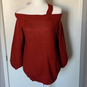 NWT NY&Co off the shoulder sweater
